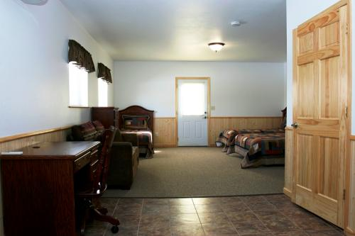 Photo of a bedroom at Diane's House at Nature's Edge Therapy Center in Rice Lake, WI