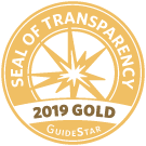 Nature's Edge 2019 Seal of Transparency from Guidestar