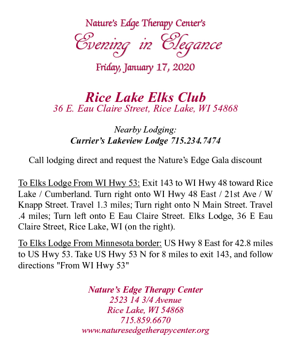 Evening in Elegance Gala 2020 Invitation, Page 4